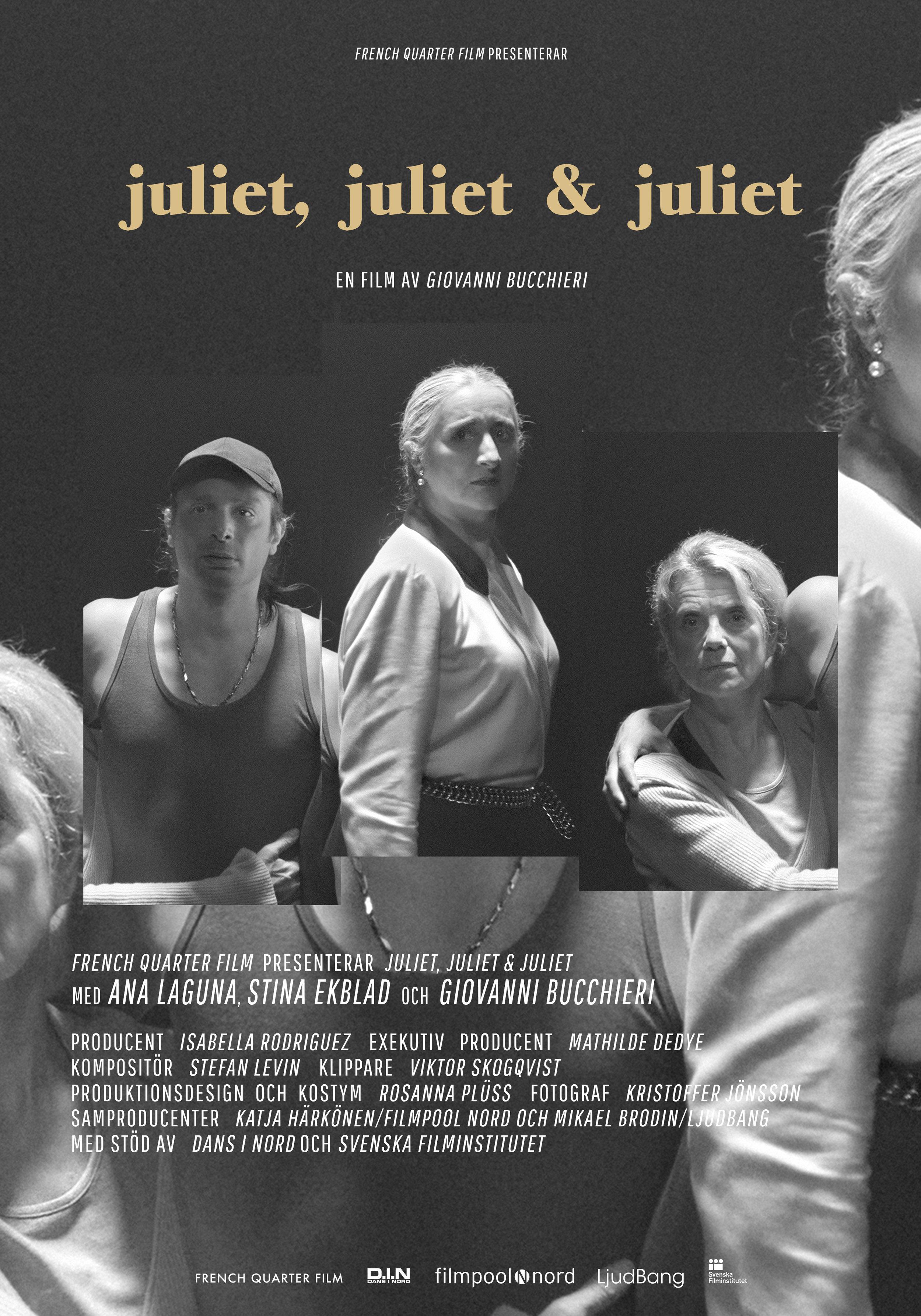 Juliet, Juliet & Juliet - short film by Giovanni Bucchieri (2017)