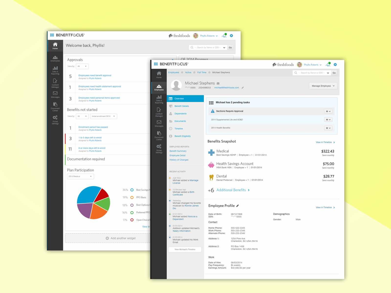 Benefits Management SaaS Redesign -