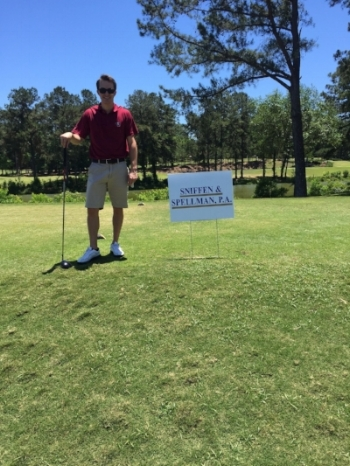 Kevin Kostelnik  playing in the 2017 Goodwill Industries - Big Bend, Inc. Classic Golf Tournament, an event that we sponsor annually.