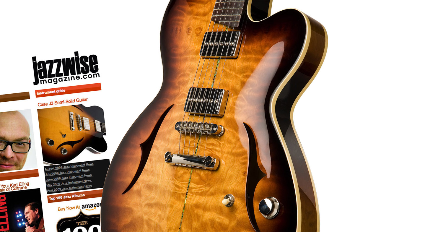 Case J3 review JazzWise