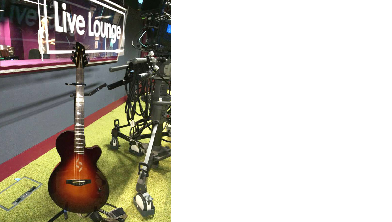 J2 Case Guitar BBC Live lounge