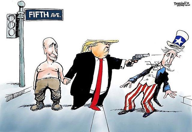 Accurate rendition of what went down today in Helsinki. #trump