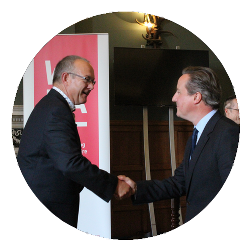 Ken and Prime Minister David Cameron