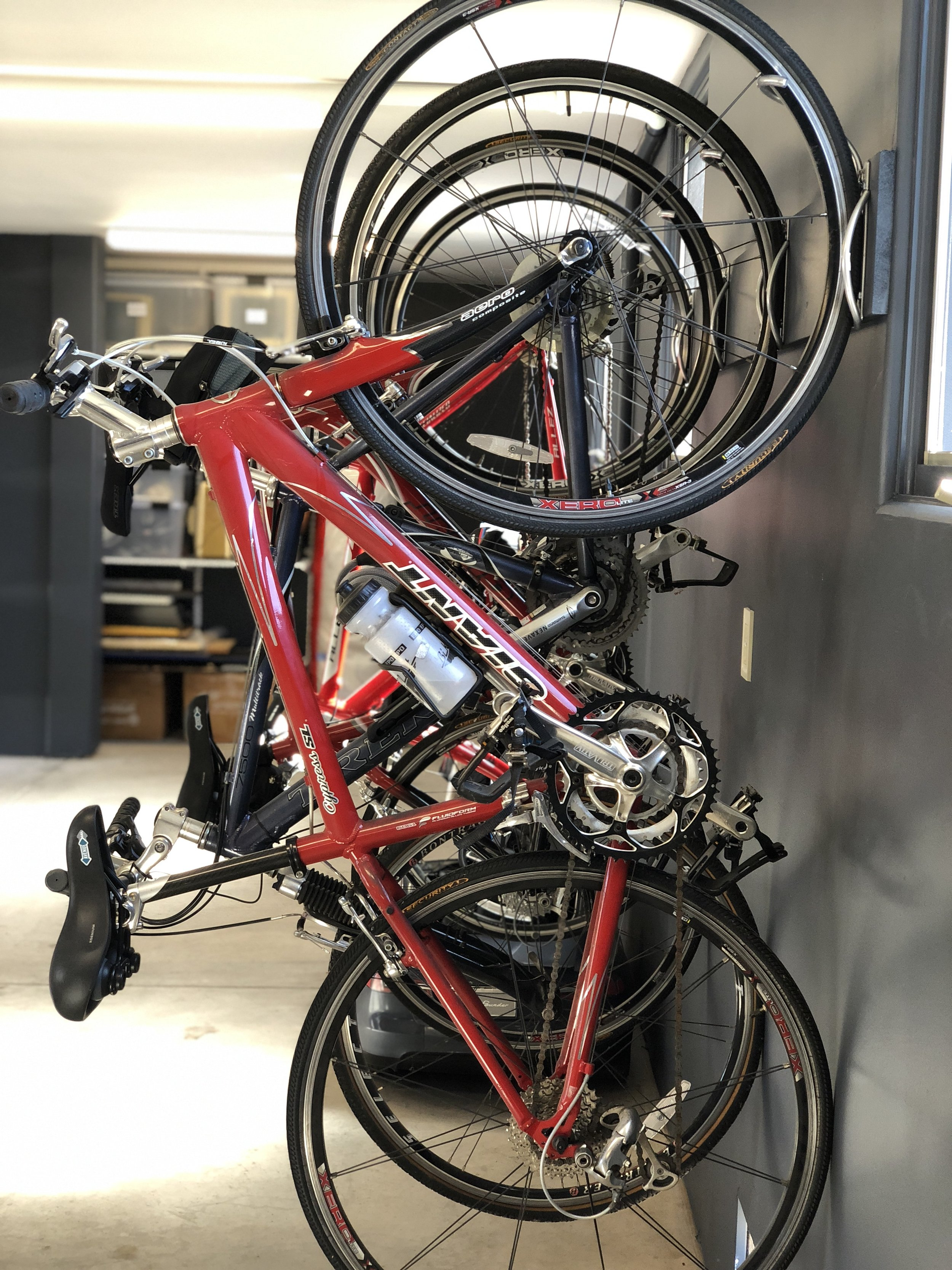 Custom bike storage solution for your garage