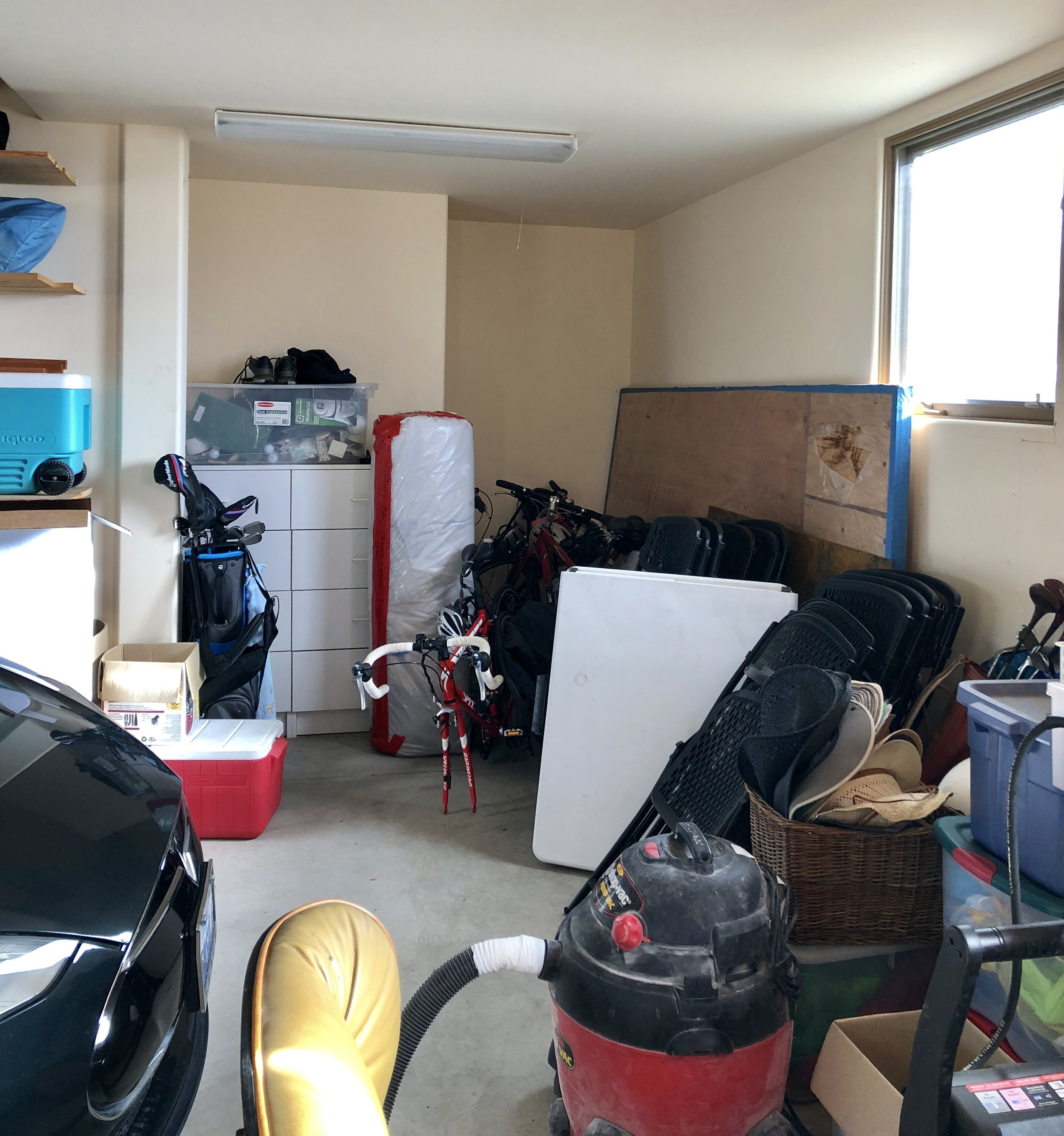 Too much clutter in your garage?