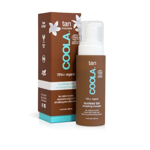 Coola Organic Sunless Tanning Mousse
