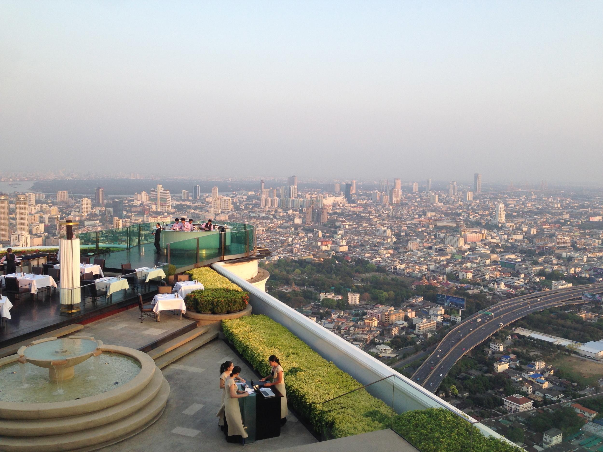 Lebua Tower, Bangkok a.k.a. where  The Hangover    2    was filmed