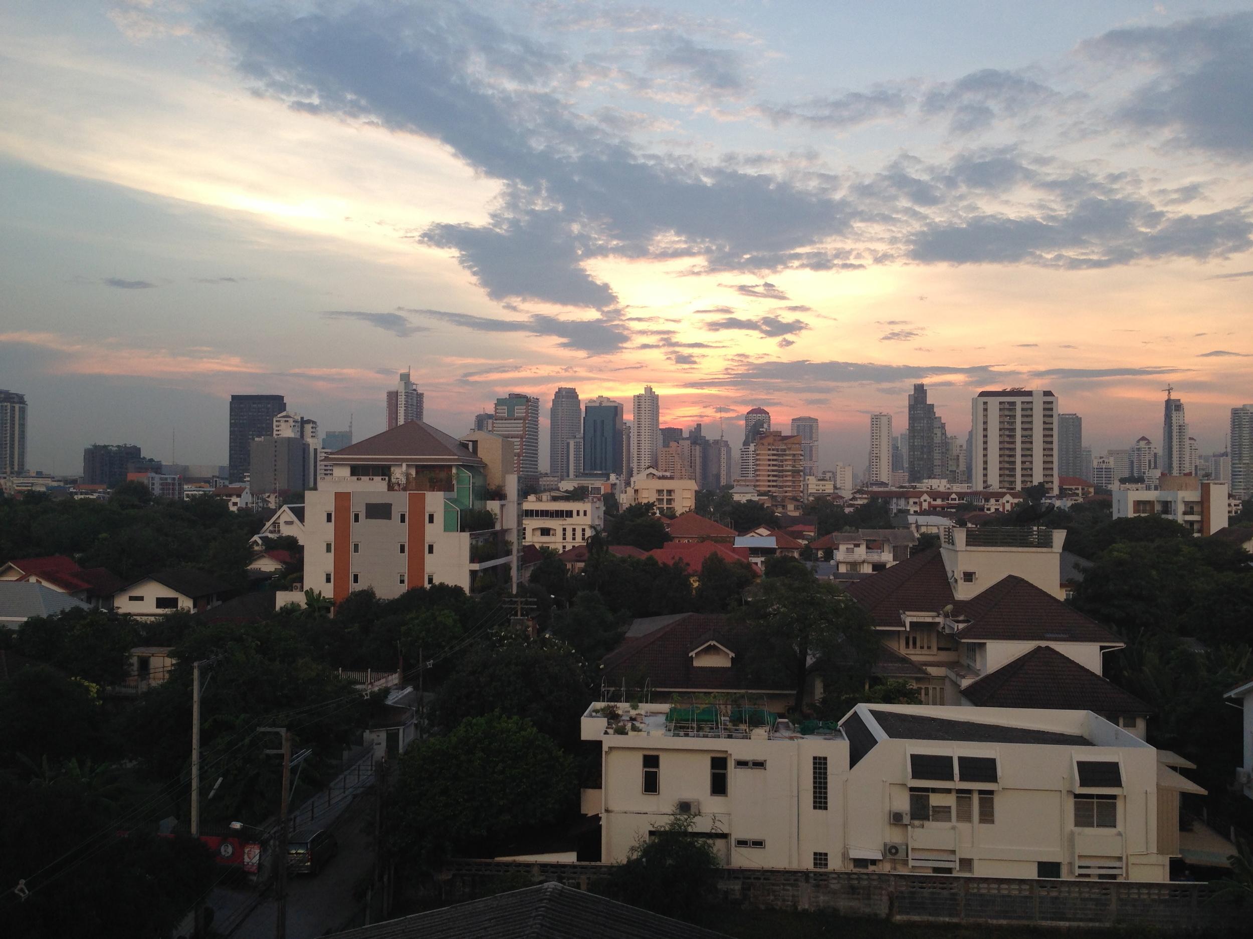 View from my Bangkok apartment | October 2014