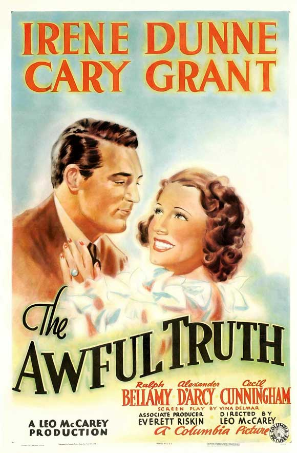 The Awful Truth  (1937) is one my favorite movies of all time, and Leo McCarey helped make Cary Grant a star and, well, helped him become 'Cary Grant.'