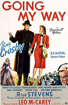 Going My Way  (1944) is the one movie that has made going to church seem somewhat appealing to me.