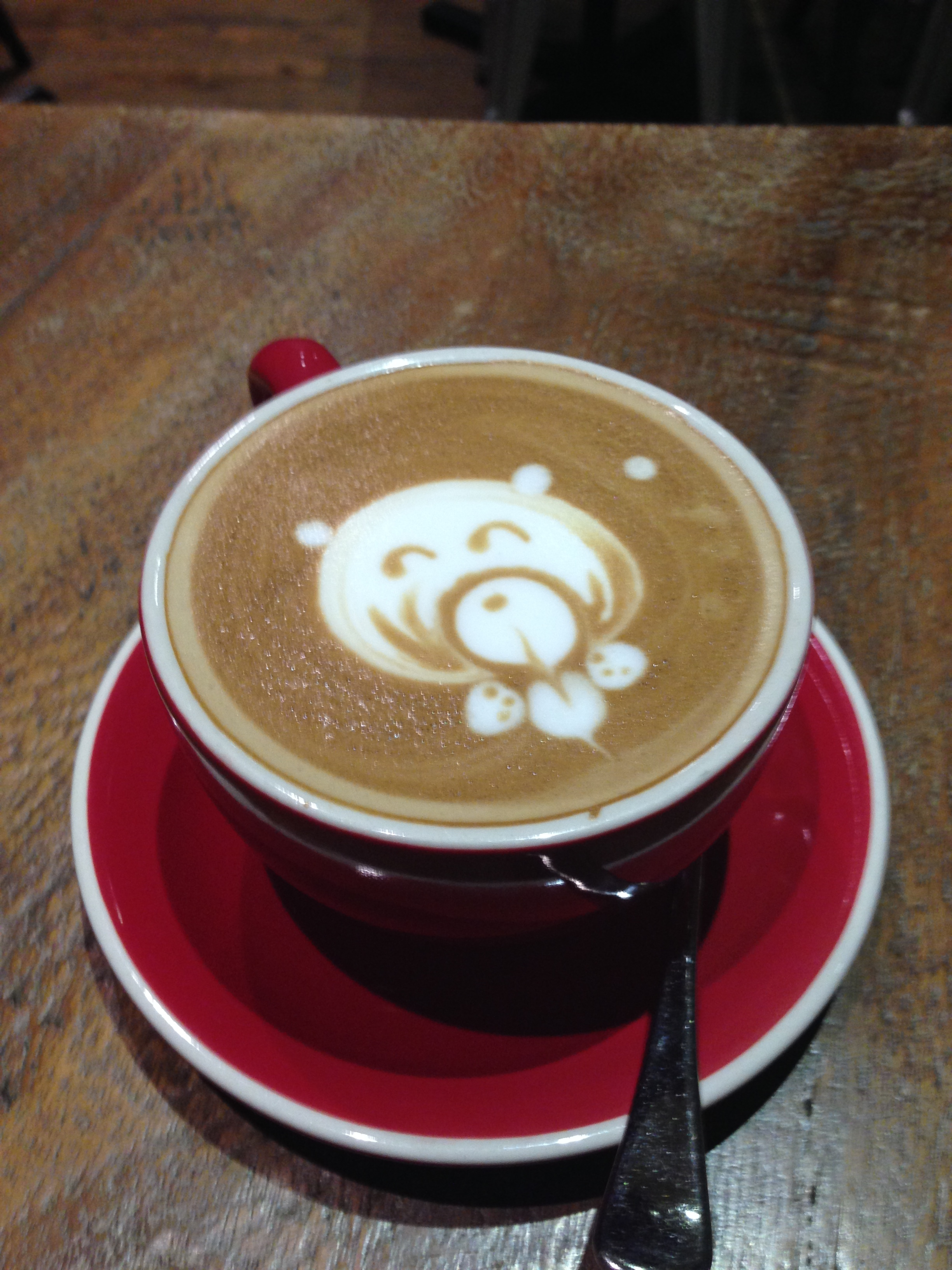 The cutest coffee art that anyone ever did see | Sydney, Australia | November 2014