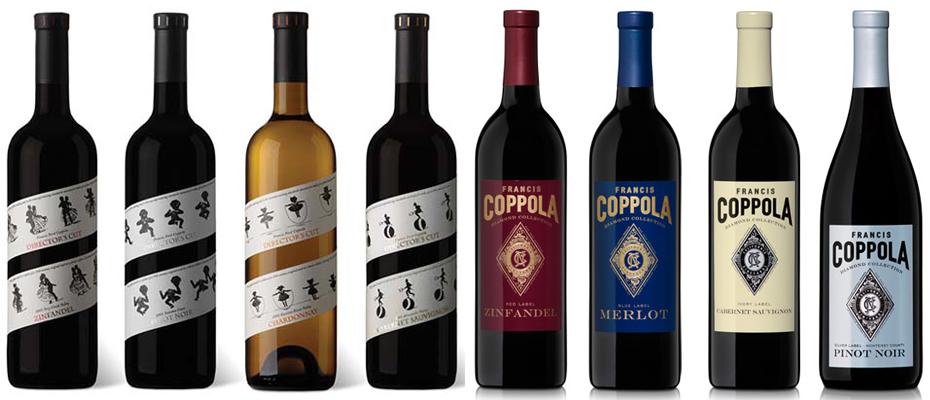 Coppola's wines.