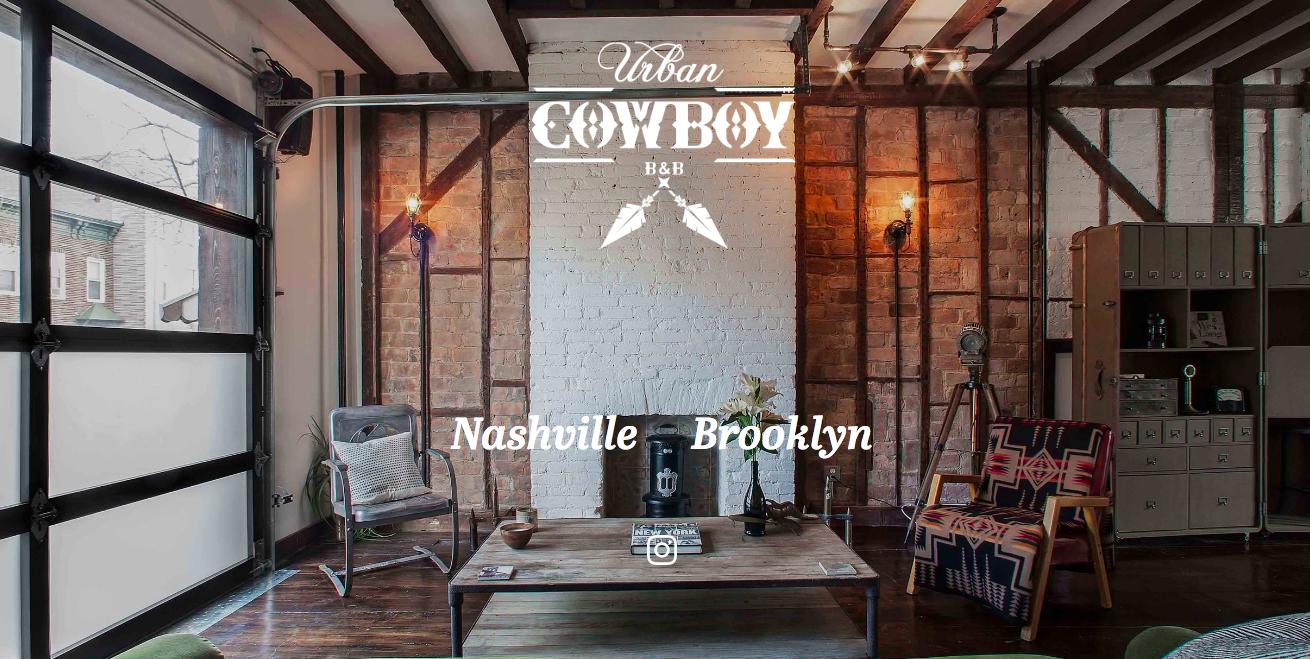 Urban Cowboy  BnB, 2017