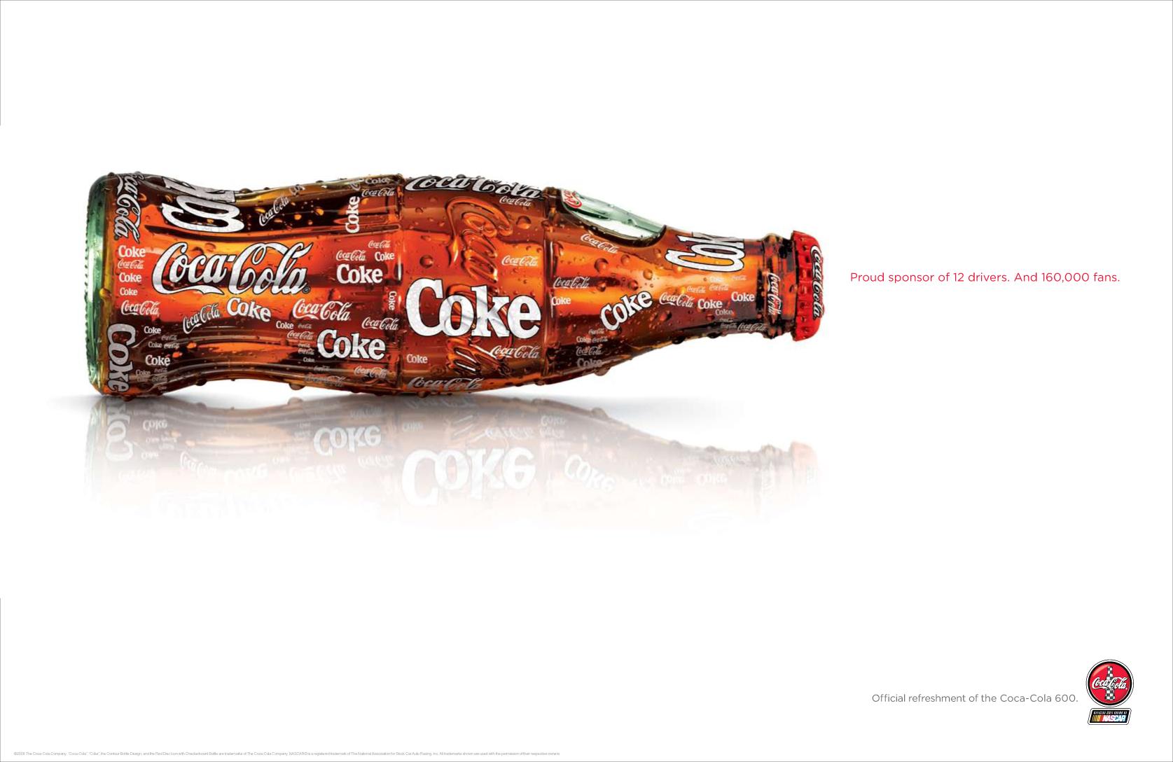 BarberWarren Coca-Cola Nascar print
