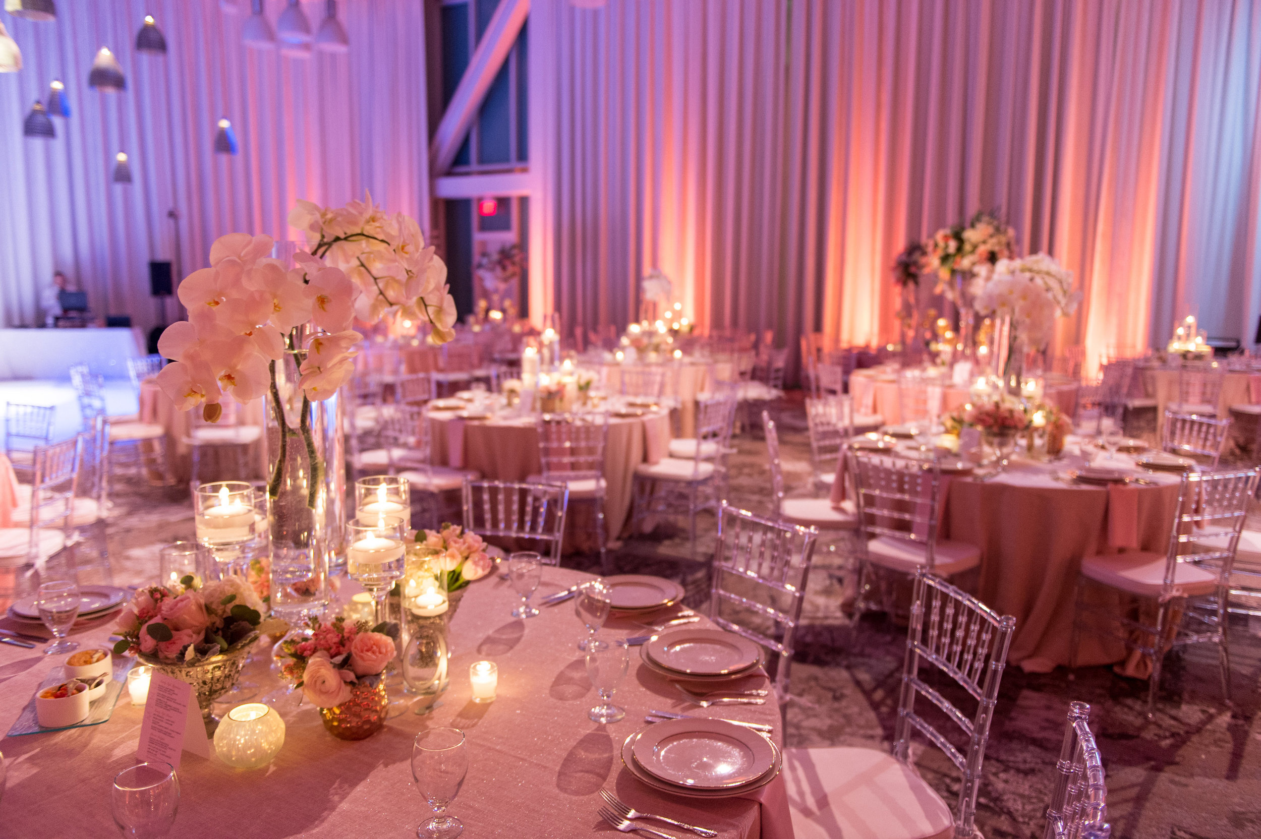 Orlando, Florida Wedding Elegant Reception