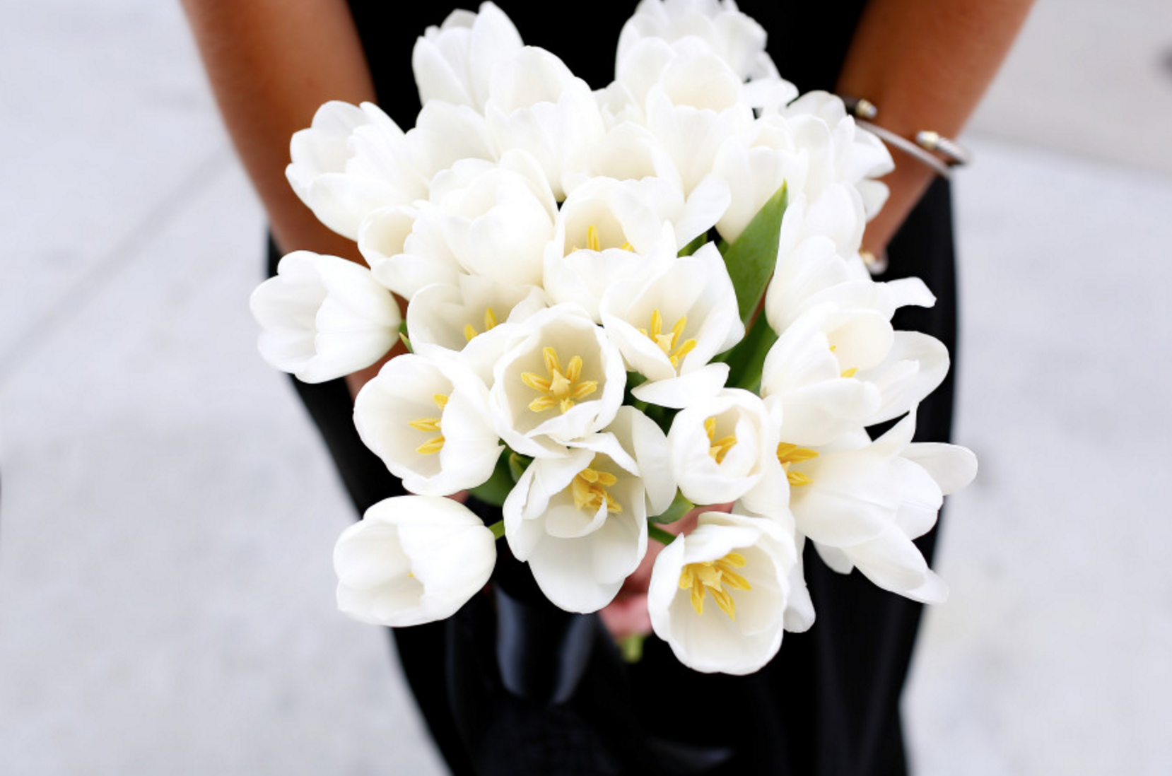 beautiful tulip bouquet