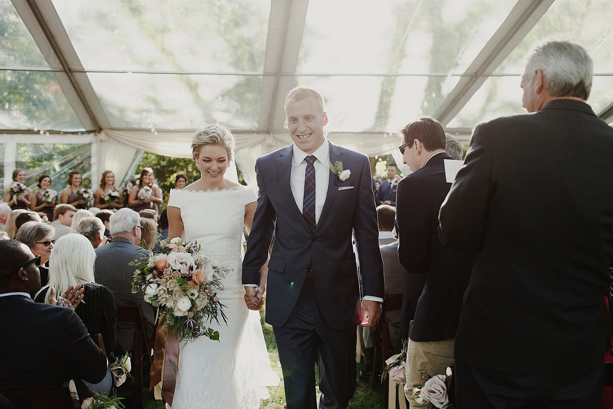 Grand Rapids, Michigan Bride and Groom Ceremony Photos