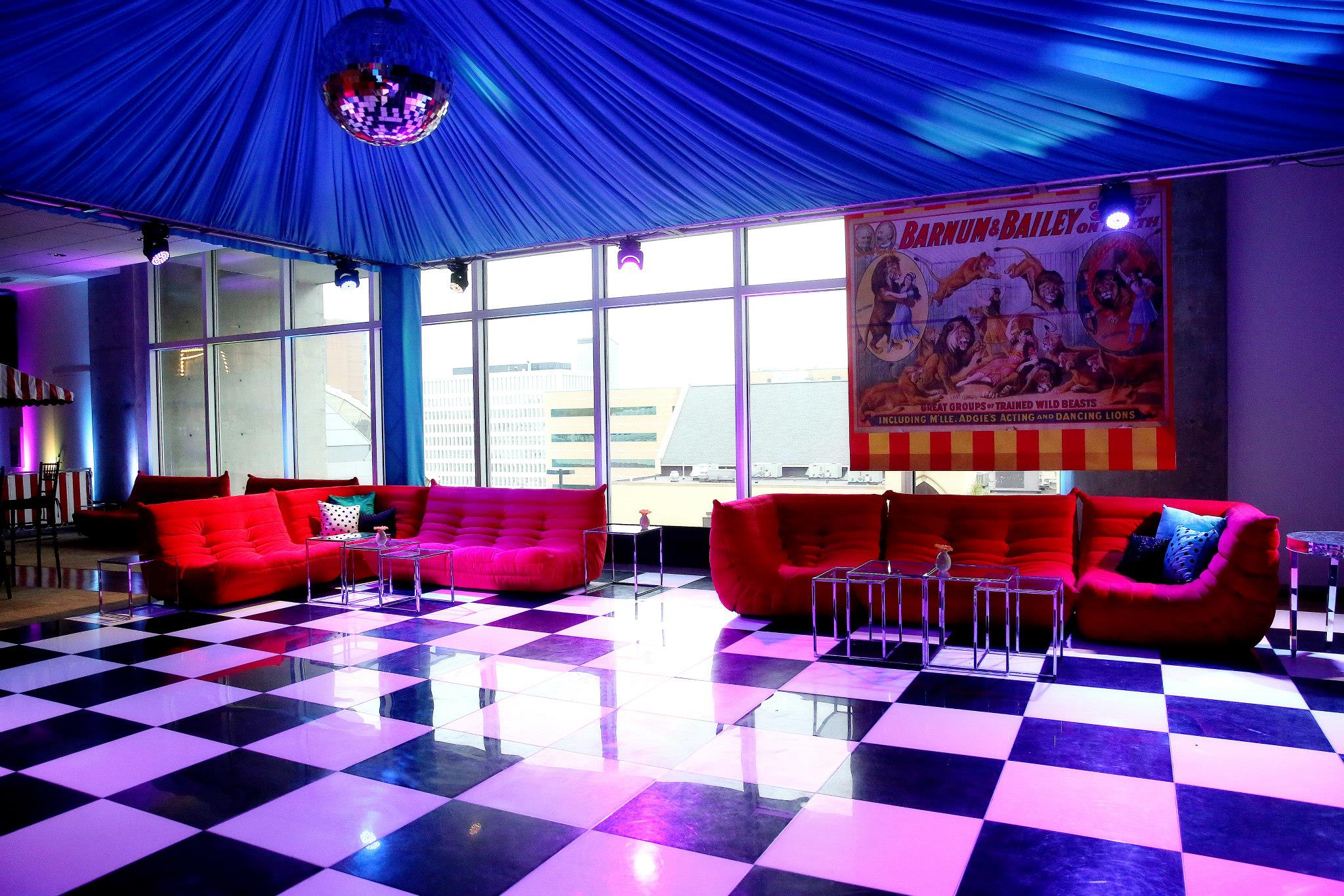 VAI Van Andel Institute Event with Checkered Floors