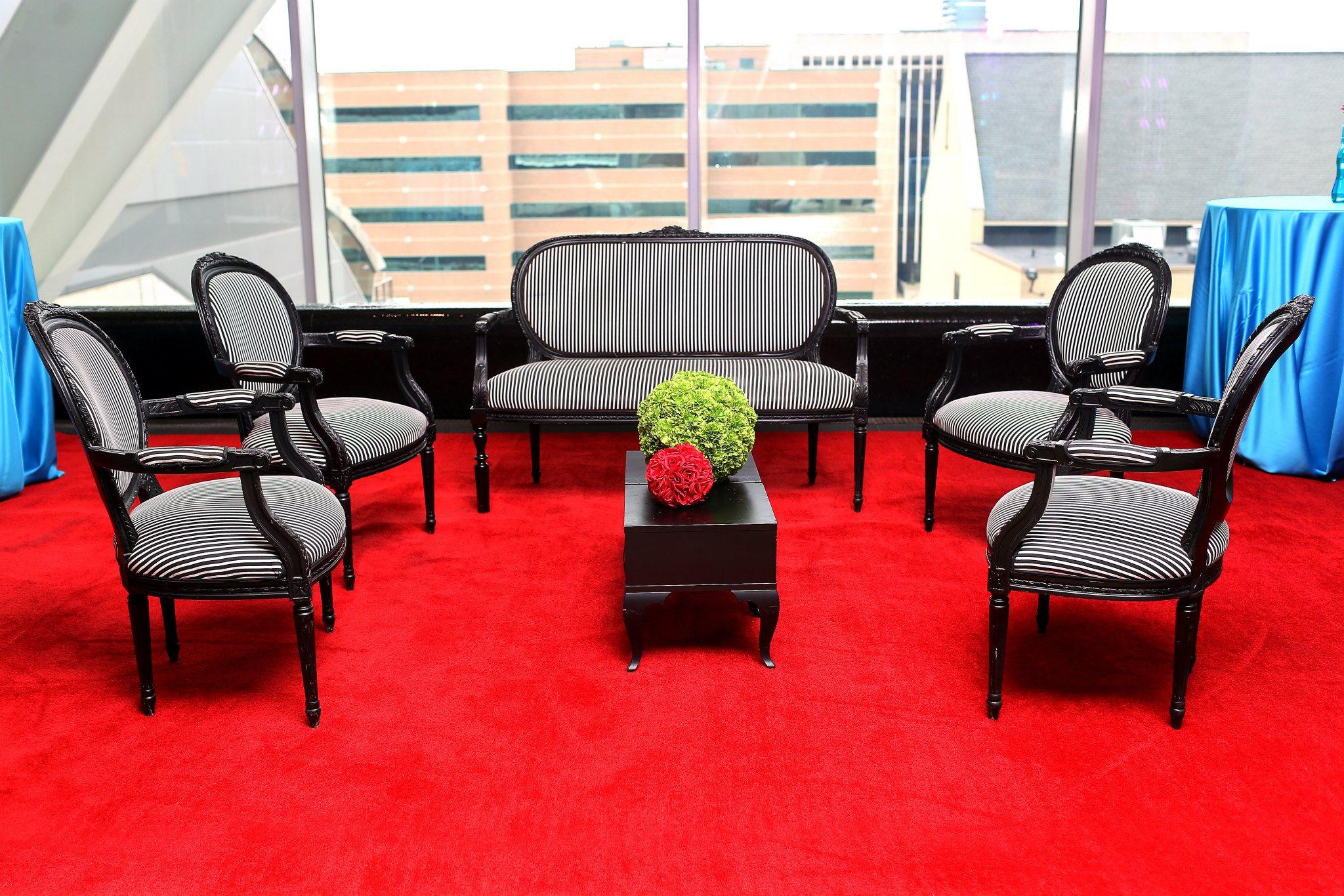 VAI Van Andel Institute Black Furniture