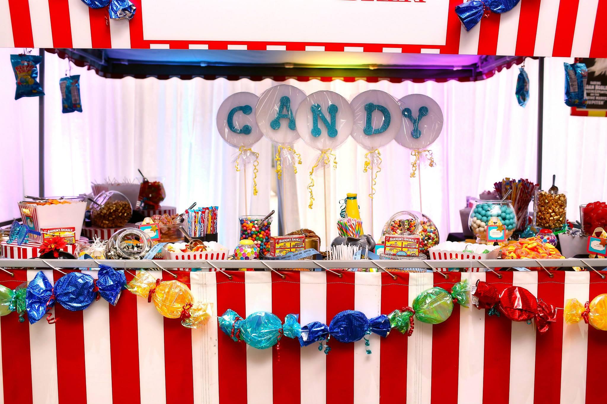 Grand Rapids, Michigan Candy Event Stand