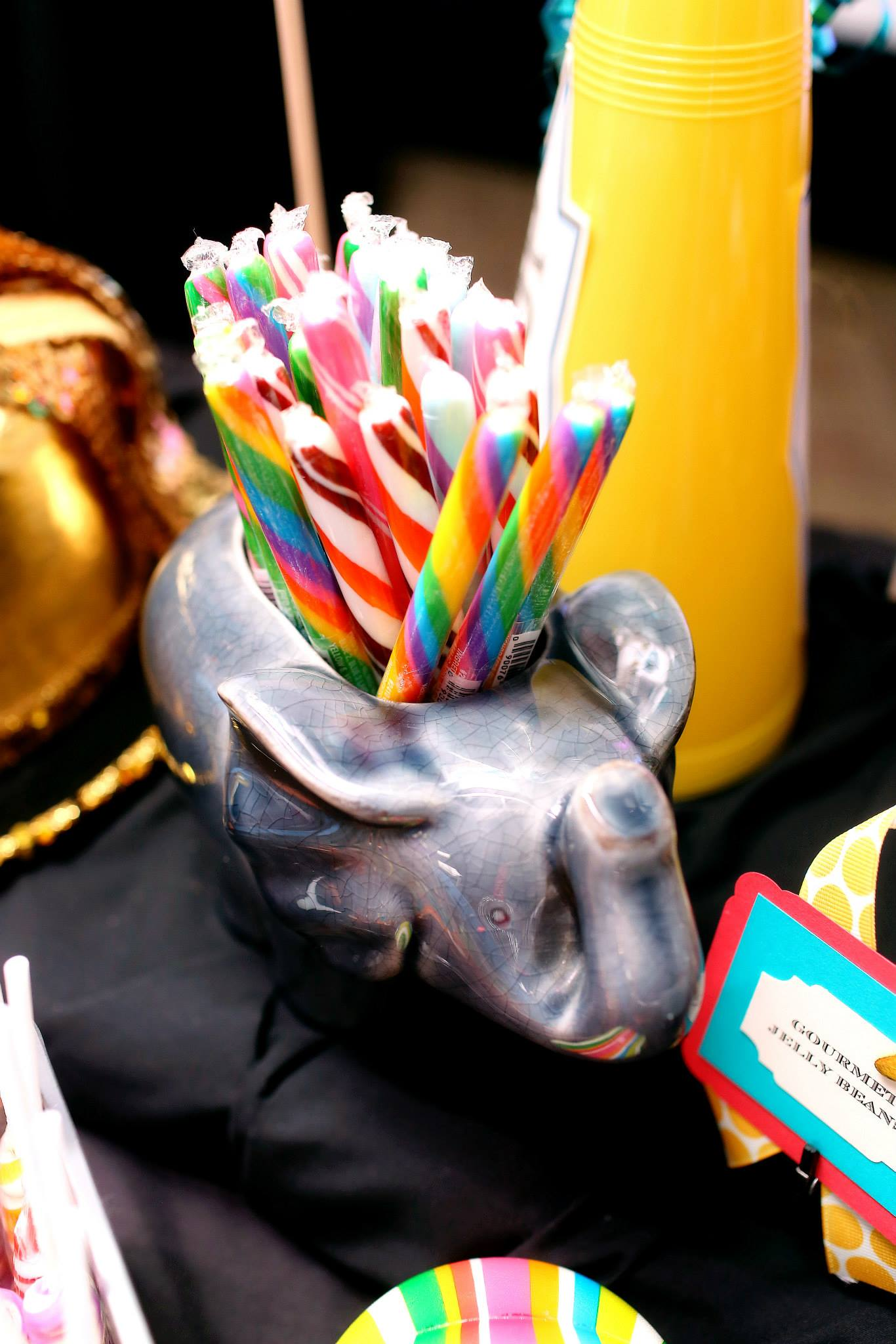 VAI Van Andel Institute Candy in an Elephant Jar