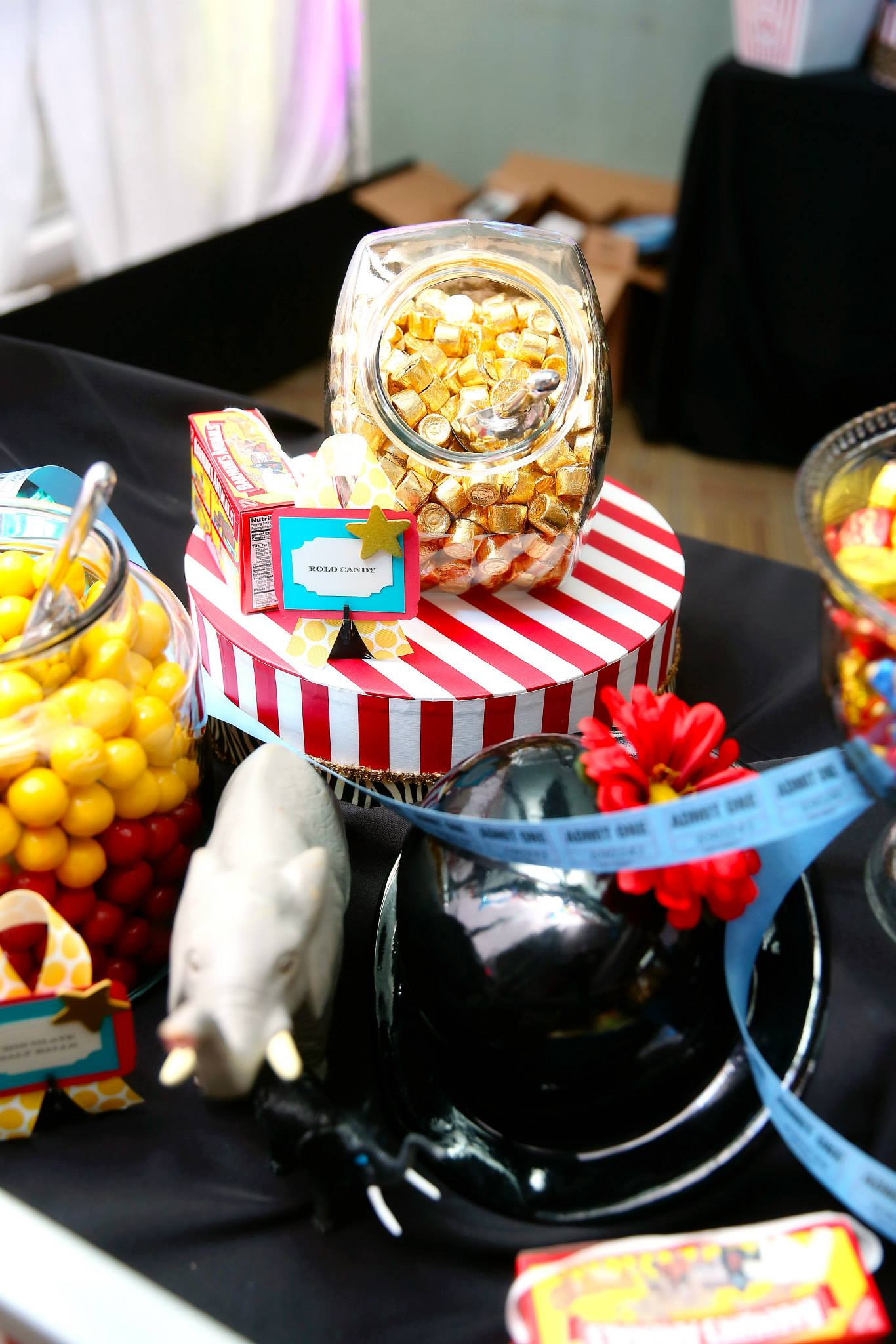Grand Rapids, Michigan Circus Event with a Candy Bar