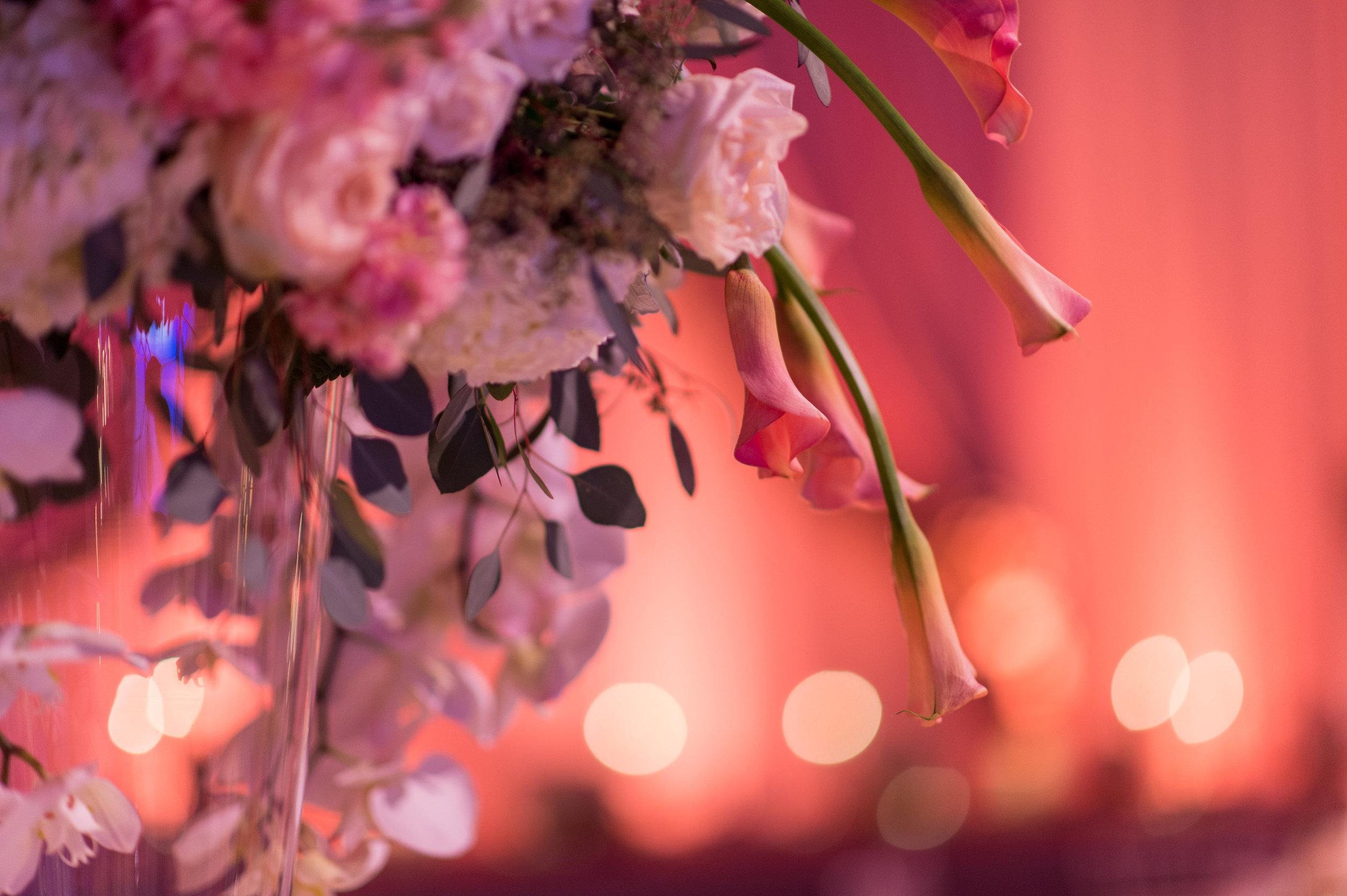 Orlando, Florida Wedding Venue Flower Details