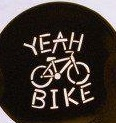 "The first "" YEAH BIKE "" stencil"