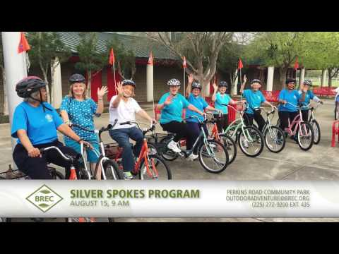 Silver Spokes ride hosted by BREC.