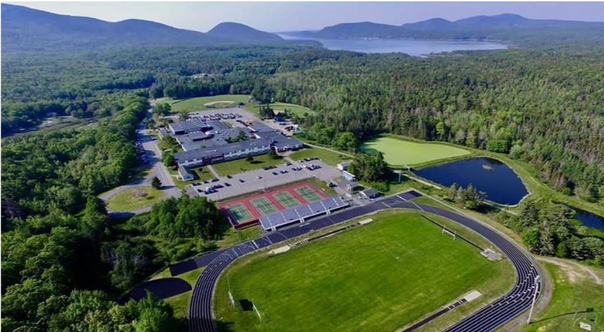 January 2019: MDI High School Trustees Accept Proposal for 100% Solar Flat Roof Array