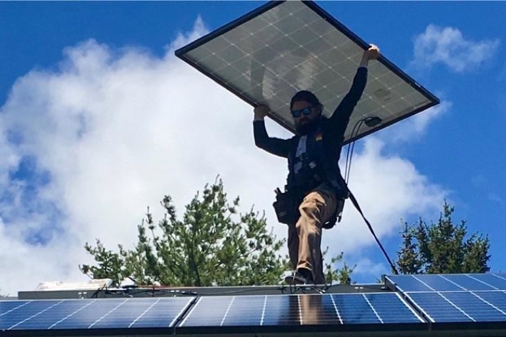 76 Solar Installs Double MDI Capacity