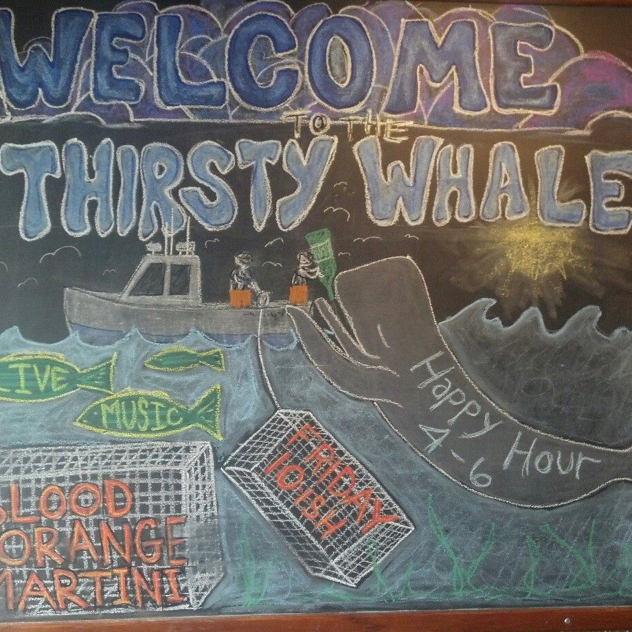 The Thirsty Whale