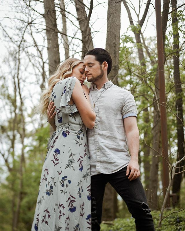 Just sent off this lovely engagement session — more to come 💛 Love these overcast Spring days.