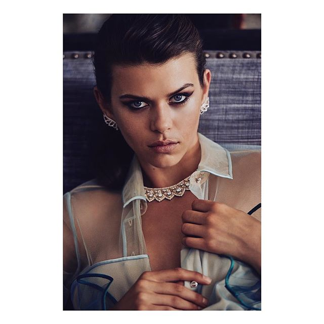 @georgiafowler for @harpersbazaarus shot at @rwcrillon ... unpublished.