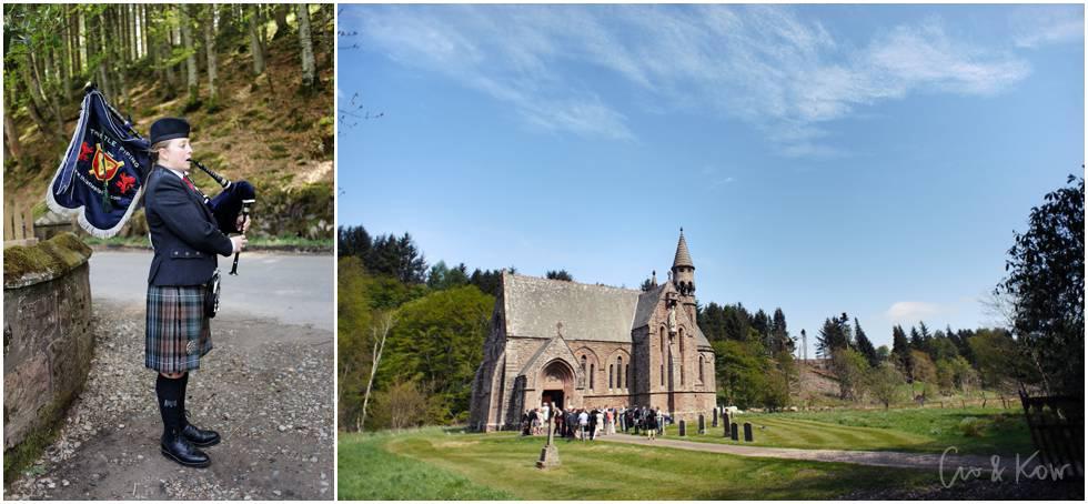 Jihye and Patrick at Drumtochty Castle — Crofts & Kowalczyk