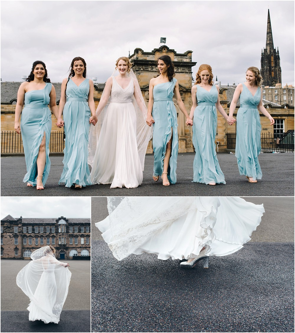 Weddings at George Heriot's in Edinburgh Scotland
