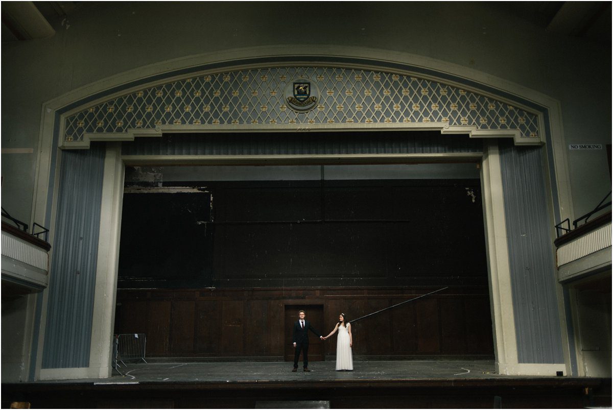Wedding photography at Thomas Morton Hall in Leith, Edinburgh, Scotland