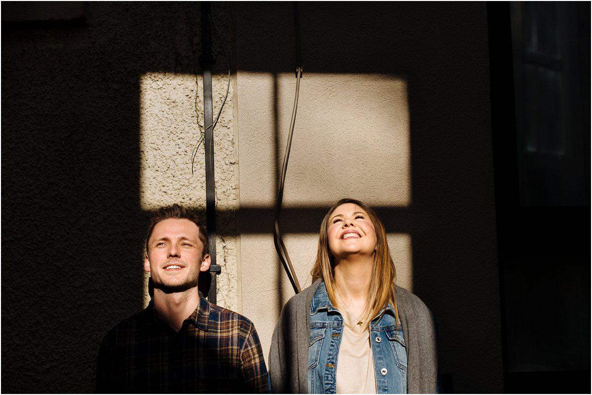 Crofts & Kowalczyk Photography engagement shoot in Edinburgh