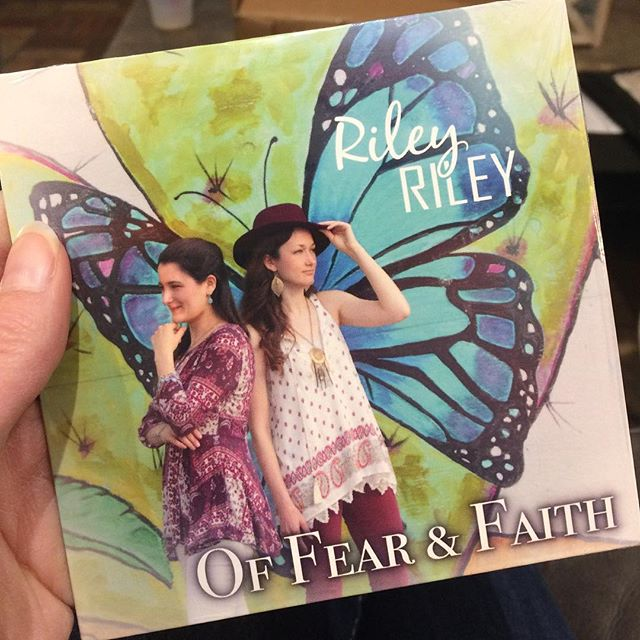 """Special Pre-Release Edition of our new album """"Of Fear & Faith""""  are now in stock!!!!! Join us in Temple, Tx this Friday to get your copy!! #newmusic #newalbum #specialedition #prerelease #rileyriley @katierileymusic @kenna_73"""