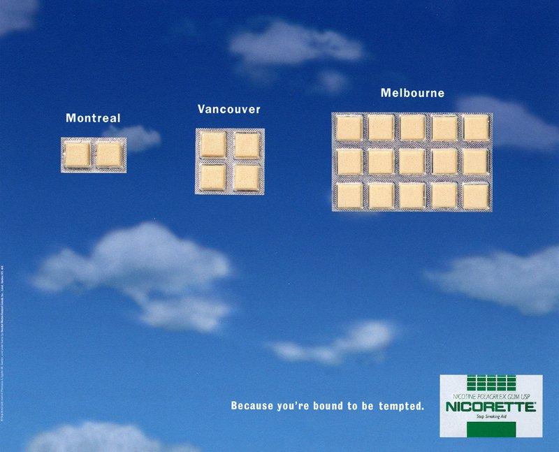 """Nicorette - """"Melbourne"""""""