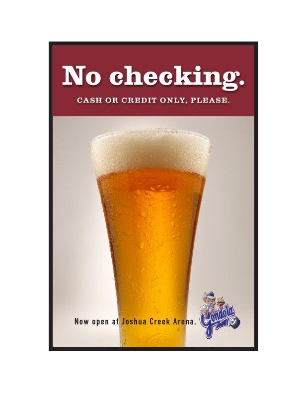 "Gondola Bar - ""No Checking"""