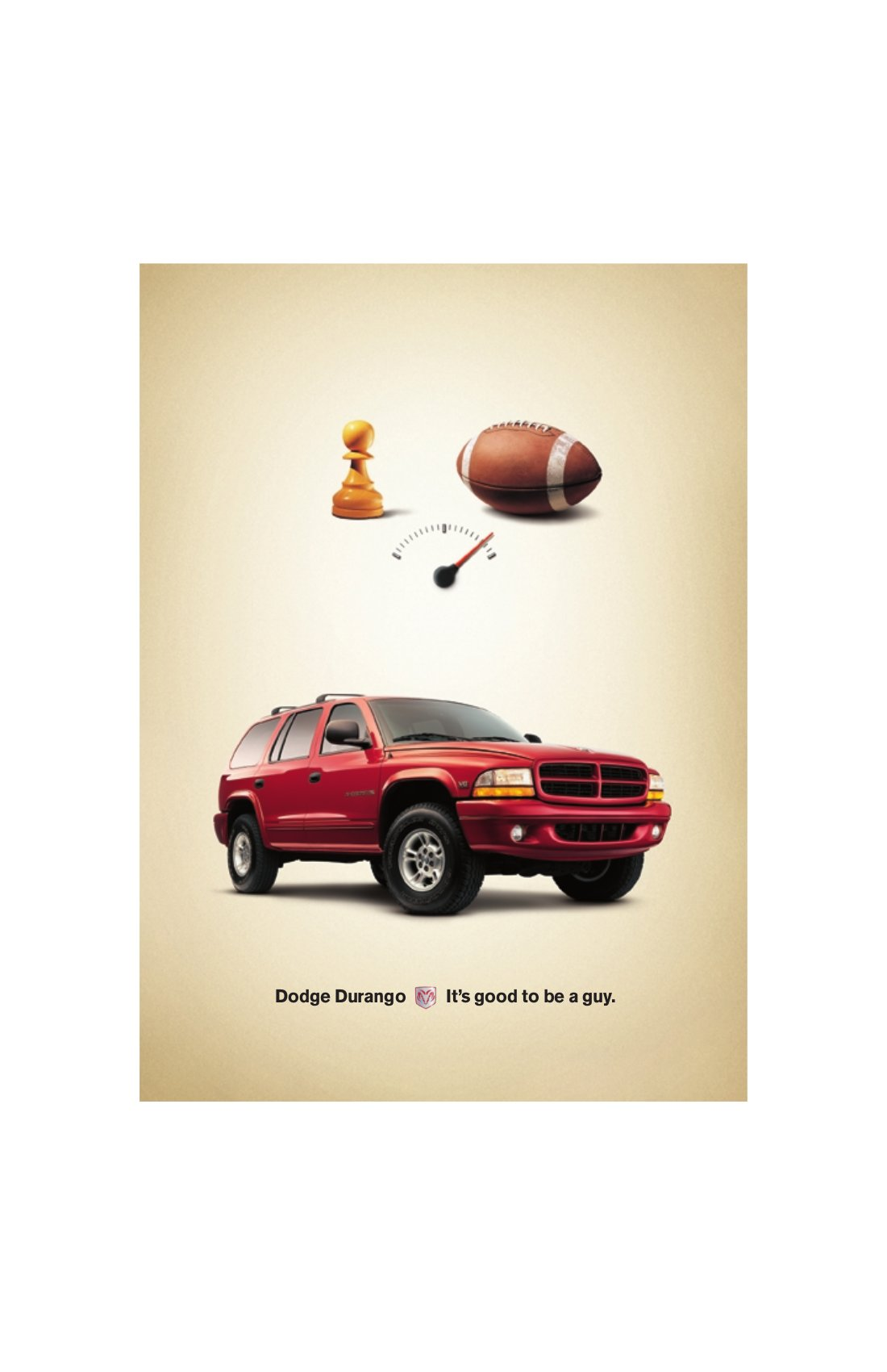 "Dodge Durango Poster - ""Football"""