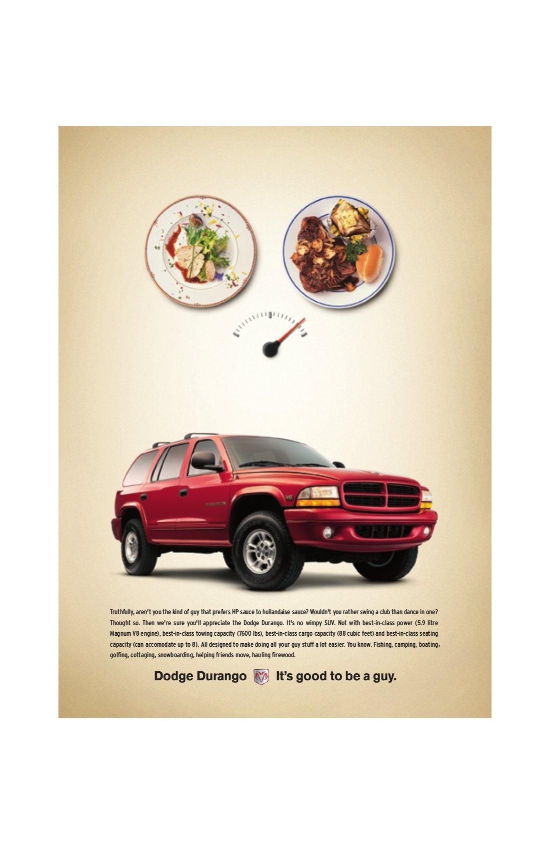 """Dodge Durango Magazine - """"Steak"""""""