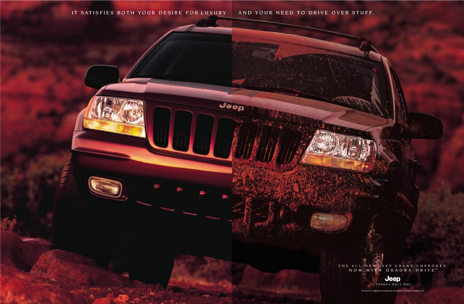 "Jeep Grand Cherokee - ""Drive Over Stuff"""