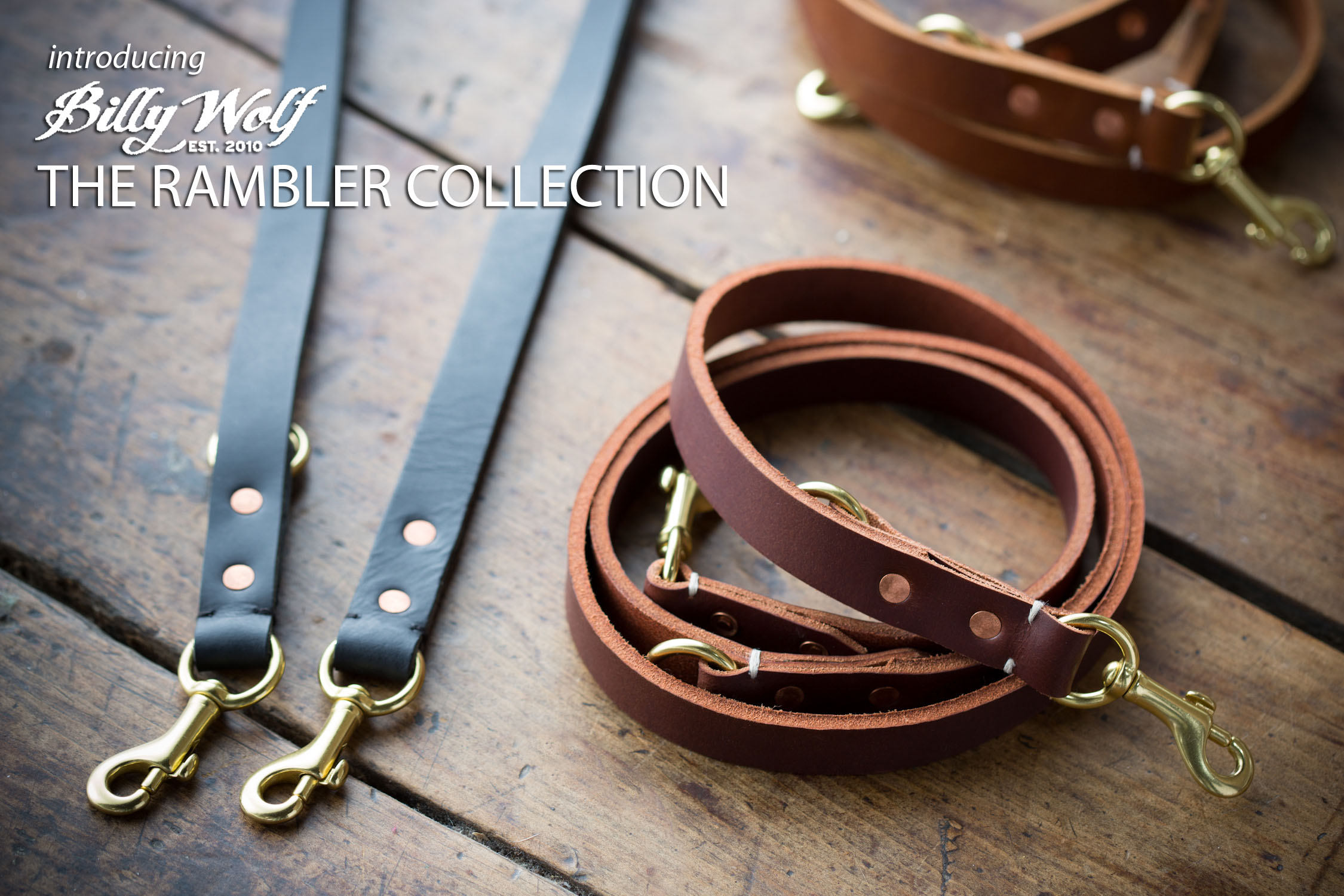 Billy Wolf NYC - Collection 'Rambler'