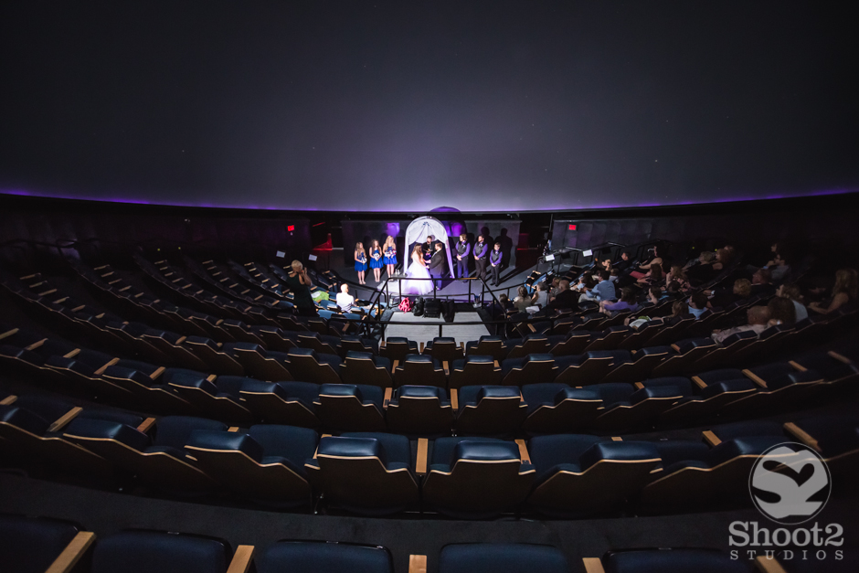 cosi planetarium wedding