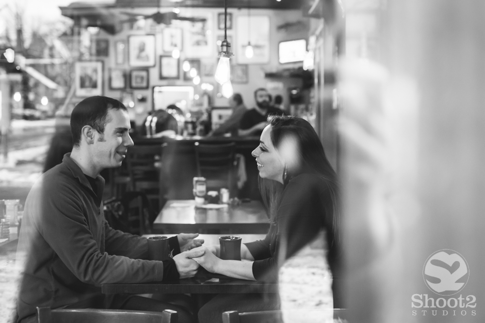 columbus coffee shop engagement