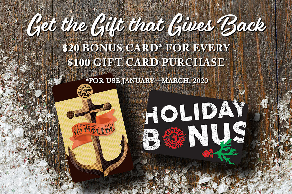 king's fish house gift card