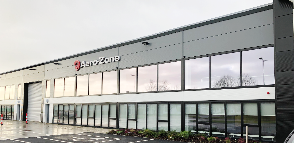Aero-Zone's newest location in Shannon, Ireland.