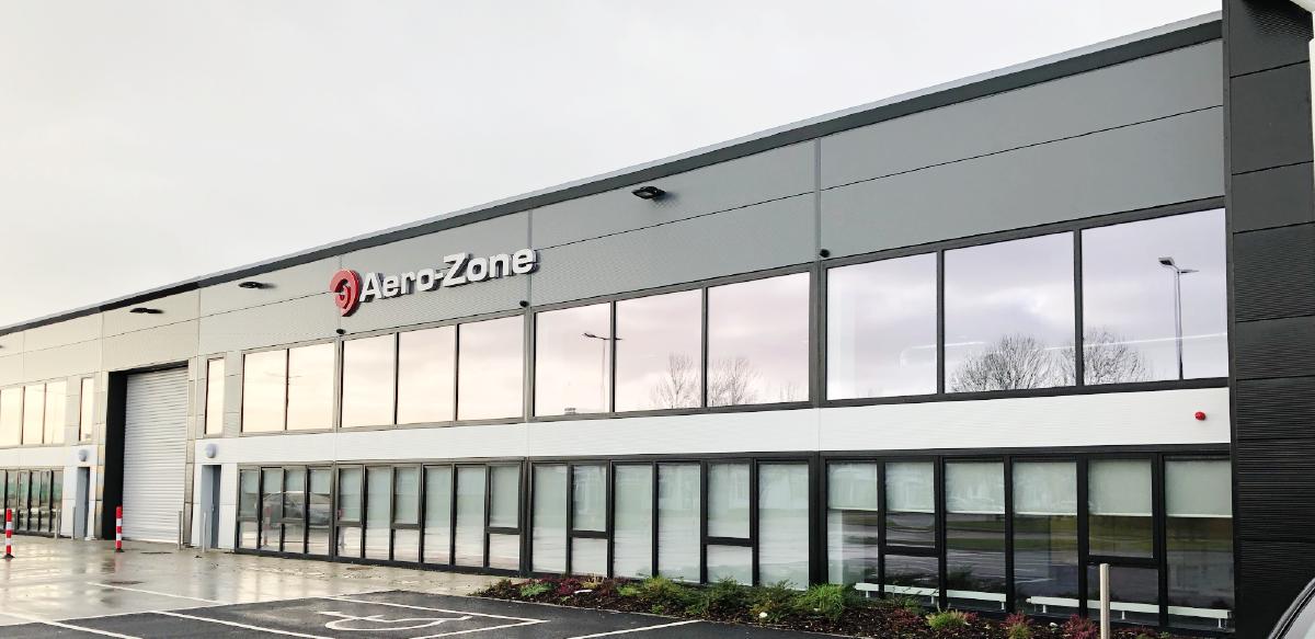 Aero-Zone's newest location in Shannon, Ireland.